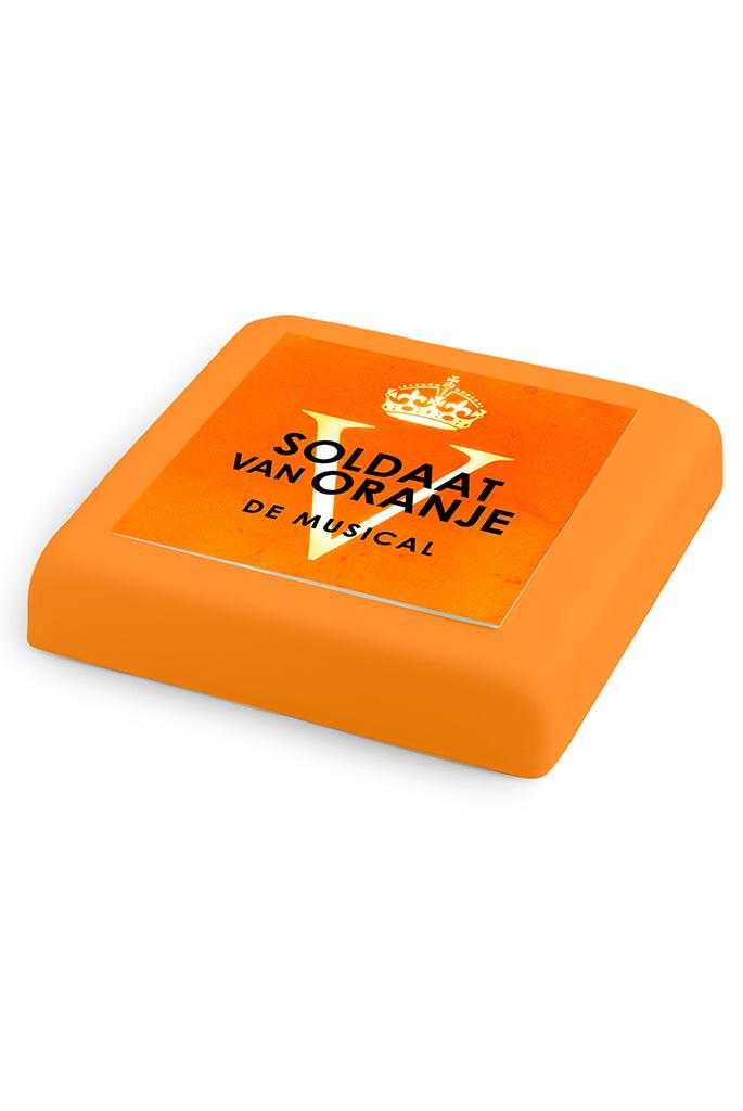 Taart Marsepeintaart Oranje Fleurtjedag Loket
