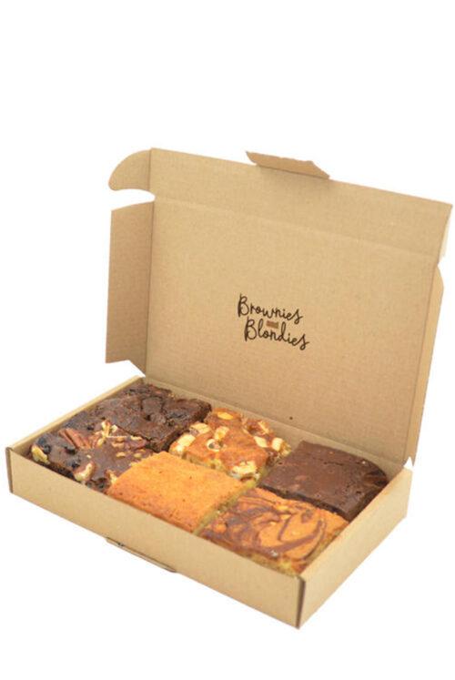 Fleurtjedag brievenbus brownies mix-brownie-blondie