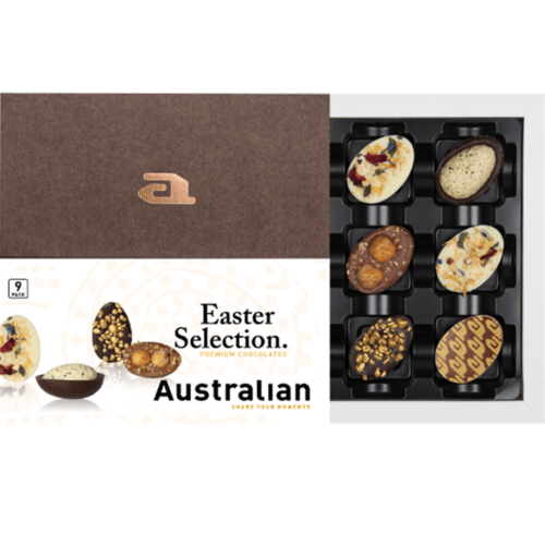 Fleurtjedag pasen cadeau collega australian paaseitjes brievenbuscadeau