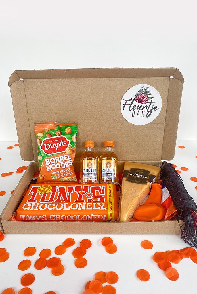 Ek borrelpakket oranje