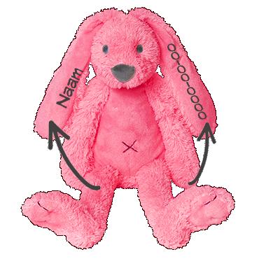 Happy horse knuffel konijn met naam