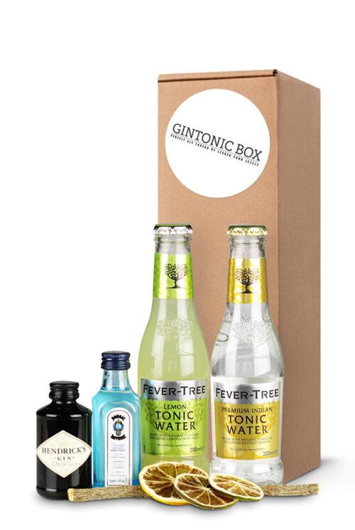 Fleurtjedag gin-tonic-box-hendrick's-en-bombay-sappphire