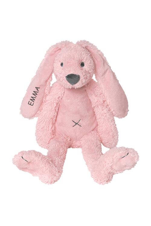 Happy horse knuffel konijn met naam kraamcadeau fleurtjedag