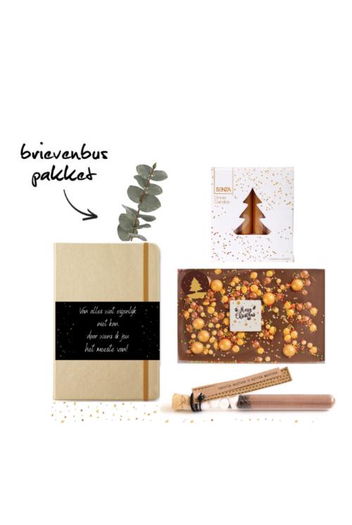fleurtjedag kerstpakket borrelpakket brievenbus