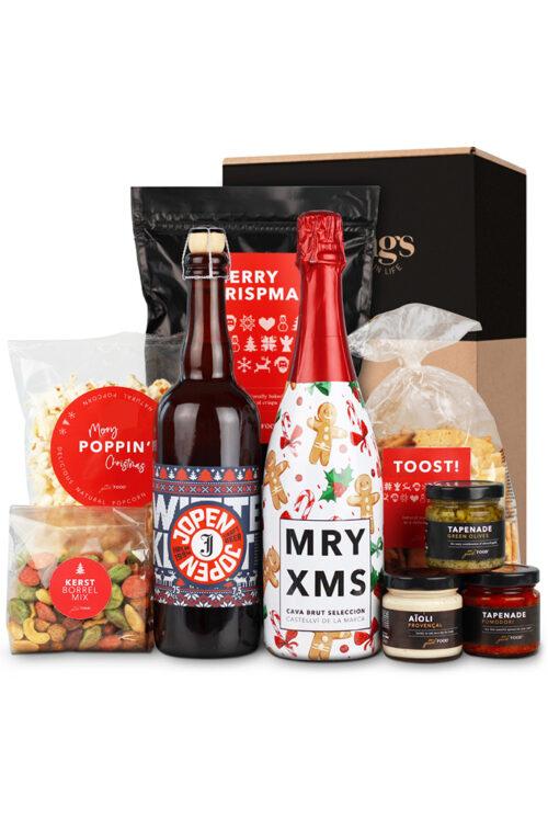 fleurtjedag kerstpakket borrelpakket merry christmas